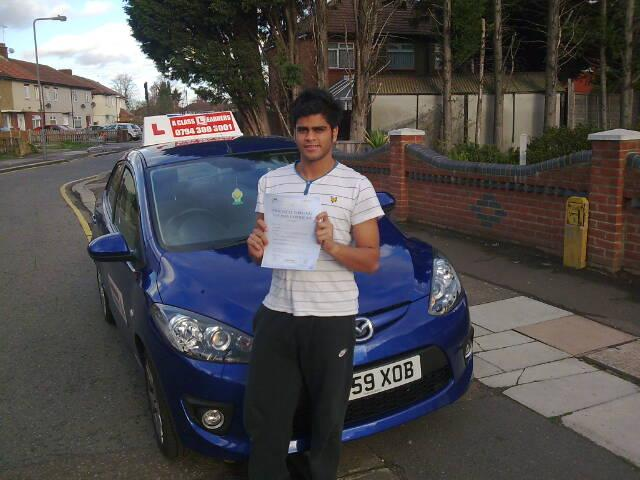 I did my Driving Lessons in Ilford!